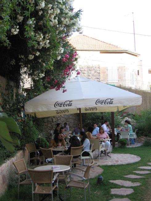Sangria's beer garden