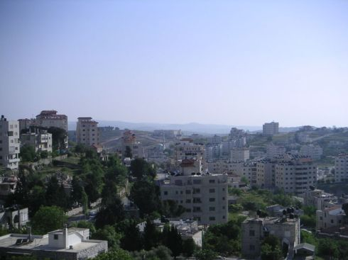 The Al Masyoun neighborhood of Ramallah