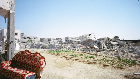 Many parts of Rafah reduced to rubble